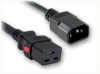 IEC-60320-C14 to IEC-60320-C19 AUTO-LOCK HOME • Power Cords • Auto-Lock® Power Cords • IEC-60320 Auto-Lock® -- 5287.072AL -Image