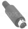 S-VHS 4-Pin Male Connector -- SVHS-4M