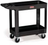 Rubbermaid Heavy-Duty Utility/Service Carts -- 4500-88BLK