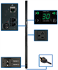 TAA Compliant Single-Phase Monitored PDU, 2.9kW 30A 120V, 0U Vertical Rackmount, 24 NEMA 5-15/20R Outlets, NEMA L5-30P Input Plug -- PDUMNV30TAA