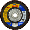 Norton Blaze CA Coarse Arbor Thread Fiberglass HD Flat Flap Disc -- 66261098290 - Image