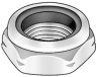 Locknut,Nylon Insert,M27x3.0 -- 4CAH4 - Image