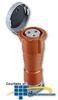 Leviton 125/250 AC 2P3W Wiring Watertight Pin and Sleeve.. -- 4100C12W
