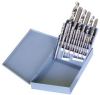18 Piece TAP-DRILL SET - Metal Box -- T9170