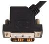 DVI-D Single Link LSZH DVI Cable Male / Male 45 Degree Left, 3.0 m -- DVIDSLZ-45-3M -Image