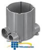 Hubbell SystemOne Round, Multi-Service Floor Box - PVC -- S1PFB