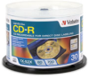 Verbatim CD-R 80MIN 700MB 52X LightScribe 30-Pack Spindle -- 94934