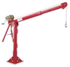 Davit Crane,Portable,1000Lb,0-252In,Galv -- 5110M1GAL WITH WA25-36NS - Image