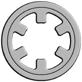Self-locking and Push-on Retaining Rings -- DTX -Image