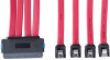 Internal SAS Cable, 4-in-1 32Pin (SFF-8484) to 4 x 7pin Cable, 1M (3-ft.) -- S502-01M - Image