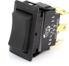 Littelfuse 58027-11 Sealed Rocker Switch, (On)-Off-(On), DPDT, 25A -- 44285 - Image