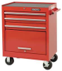 Rolling Tool Cabinet,27x18x35 In,Black -- 19C266