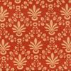 Fleur De Lis Striae Damask Fabric -- R-Amanda -- View Larger Image