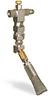 "(Formerly B1049-2X01), Angled Valve Brush, 5/8"" Round Stainless Steel, 1/8"" Female NPT Inlet -- B1049-SR2BHW -Image"