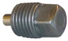 Plug,Magnetic,1/4 In,0.96 In L,Steel -- 4CCD9
