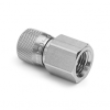 """1/4"""" female NPT x female Quick-test XT, stainless steel -- XTHA-2FSA -- View Larger Image"""