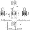 Modular Fixturing Grid Plates -- Compact Riser Block