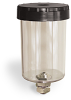 """10 Ounce Reservoir Assembly, Without Filter, 1/8"""" Female NPT, 5/8""""-18 Thread for Remote Mounting -- A5409-4 -- View Larger Image"""