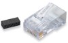 CAT6 Modular RJ-45 Connectors, 25-Pack -- FM860-25PAK