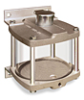 Wall Mounting Acrylic Reservoir, 1 qt -- B2886-1 -- View Larger Image
