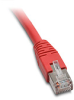 ETHERNET PATCH CABLE, CAT5E STP, 14FT (4.3m), RED -- C5E-STPRD-S14