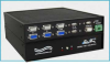 DB9, HD15, USB A/B KVM Switch -- Model 7466 - Image
