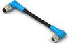 M8/M12 Cable Assemblies -- T4062214004-007 -Image