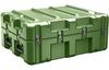 Pelican AL3022-0705 Single Lid Flat Shipping Case with Foam - Olive Drab -- PEL-AL3022-0705RPF137 -Image