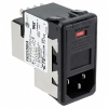 Power Entry Connectors - Inlets, Outlets, Modules -- 1-6609952-2-ND - Image