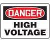 MELCD09VA - Safety Sign, Danger - High Voltage, 7
