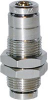 Nickel Plated Brass Dot Push-in -- D6590 04-00