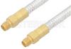 SMA Female to SMA Female Cable 24 Inch Length Using PE-SR401FL Coax -- PE3534-24 -Image