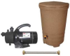 Rain Barrel Pump System, 1/2 HP, 115V -- 7HT05