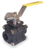 Ball Valve,1 1/2 In NPT,Carbon Steel -- 1CKP6