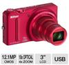 Nikon S9100 26249 Coolpix Digital Camera - 12.1 Exact MegaPi -- 26249