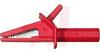 FLANGED CROCODILE CLIP - RED UL/CSA -- 70062305 - Image
