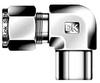 Dk-Lok® Tube Socket Weld Elbow -- DLSW 4-4