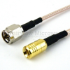 SMA Male to SMB Plug Cable RG-316 Coax in 120 Inch -- FMC0216316-120 -Image