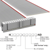 Rectangular Cable Assemblies -- H1CXH-3036G-ND -Image