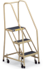 GILLIS Rubber-Tread Office Ladders -- 7341300