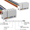 Rectangular Cable Assemblies -- H3AAS-1006M-ND -Image