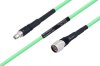 Temperature Conditioned SMA Male to N Male Low Loss Cable 18 Inch Length Using PE-P300LL Coax -- PE3M0229-18 -Image