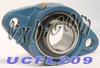 45mm Bearing UCFL209 + 2 Bolts Flanged Cast Housing -- Kit7331