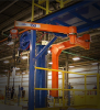 Ceiling Mounted Articulating Jib Crane -- 400L-8-250 -- View Larger Image