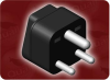 UNVERSAL TO INDIA ADAPTER 15 A -- 0530.B