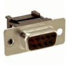 AMPHENOL COMMERCIAL PRODUCTS - 841-17-DEFR-A9S - D SUB CONNECTOR, STANDARD, 9POS, FEMALE -- 515374