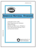 ANSI/ASSE A1264.1-2007 Safety Requirements for Workplace Walking/Working Surfaces & Their Access; Workplace Floor, Wall & Roof Openings; Stairs & Guardrails Systems -- 331P