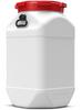 80 Liter Square Plastic Drum -- 7480
