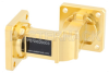 WR-62 Instrumentation Grade Waveguide E-Bend with UG-419/U Flange Operating from 12.4 GHz to 18 GHz -- PE-W62B003 - Image