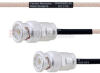 BNC Male to BNC Male MIL-DTL-17 Cable M17/113-RG316 Coax in 30 Inch -- FMHR0085-30 -Image